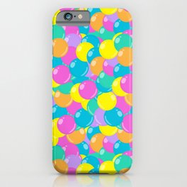 Pastel Rainbow Round Candy – Ball Pit iPhone Case