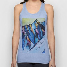 The Chugach Unisex Tank Top