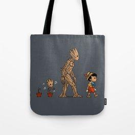 Groot - Pinocchio Tote Bag