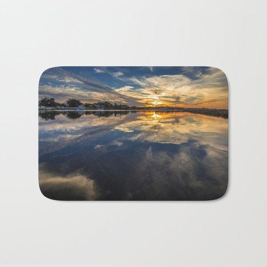 Cloud Art Bath Mat