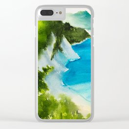 Sea scenery #3 Clear iPhone Case