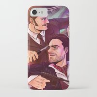 johnlock iPhone & iPod Cases featuring Watson and Holmes by Krusca