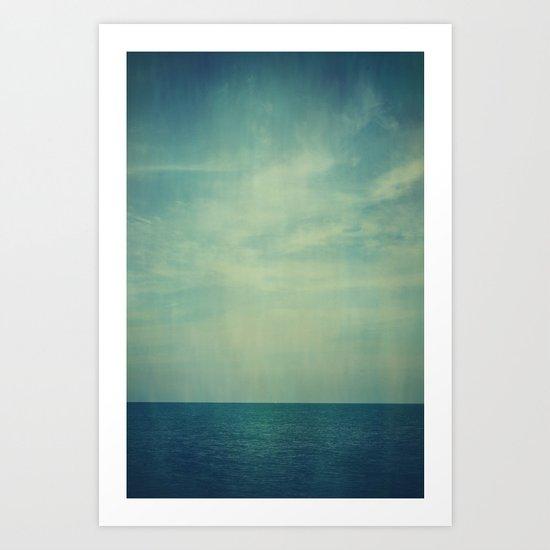 Sky Blue Art Print