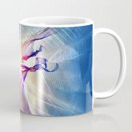 Galactic Light Abstract Art Coffee Mug