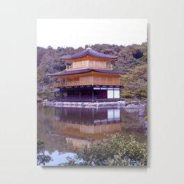 Kinkakuji 2 Metal Print