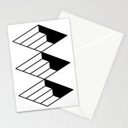 stairways type Stationery Cards