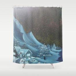 Mountain Hideaway Shower Curtain