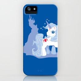 My Little Last Unicorn iPhone Case