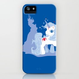 My Little Last Unicorn iPhone Case
