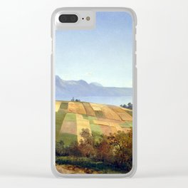 Alexandre Calame Swiss Landscape Clear iPhone Case