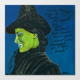 Elphaba-Wicked Canvas Print