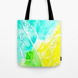 Resist Leaves Tote Bag
