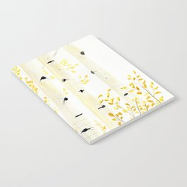 Birch Trees Notebook