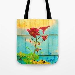 Wallflower Tote Bag