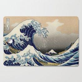 The Great Wave off Kanagawa Hokusai Cutting Board