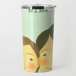 S&K Happy Wedding !! Travel Mug