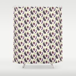 Eggplants Shower Curtain