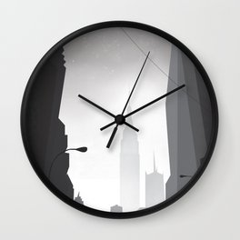 Love in New York Wall Clock