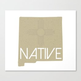 New Mexico Native with Zia Canvas Print