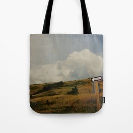 One Way Out Tote Bag