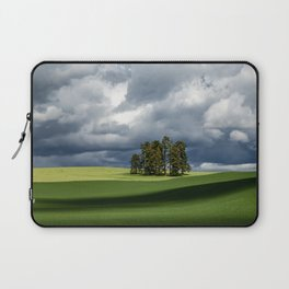 Tree Group in Green Field Laptop Sleeve