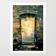 What Lies Beyond the Door Part II Art Print
