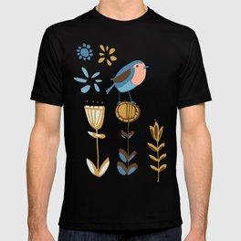 hygge blue bird T-shirt