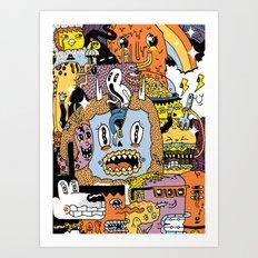 The Escape Plan Art Print