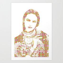 Candice Swanepoel: Pierced Art Print