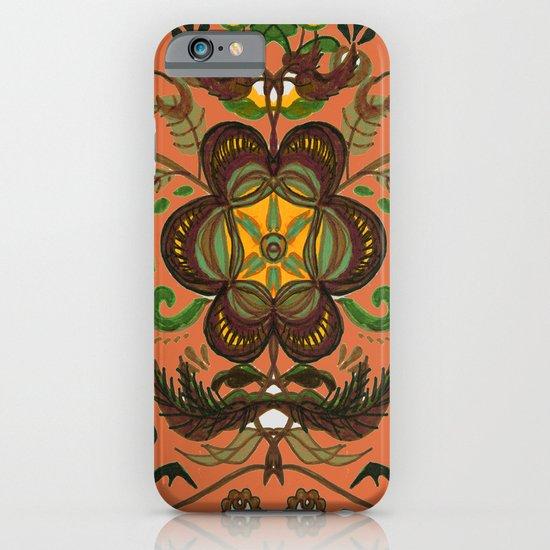 Shenkura Folk Art Pattern iPhone & iPod Case