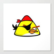Angry Birds Pirate Canvas Print