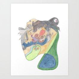 Drawing #15 Art Print