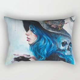 Blue Valentine Rectangular Pillow