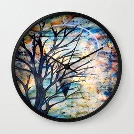 Ethereal Wall Clock
