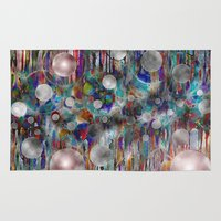 twilight Area & Throw Rugs featuring Twilight  by Heather Plewes Art