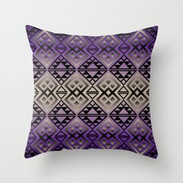 The Lodge (Purple) Throw Pillow