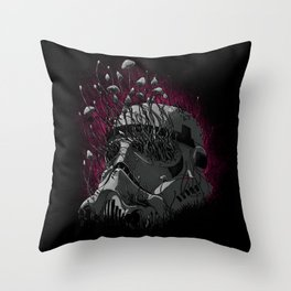Shroom Trooper Throw Pillow