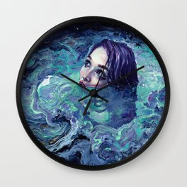 Whirlwind Calm Wall Clock