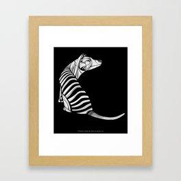 Thylacine (Tasmanian Tiger) Framed Art Print