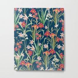 Blossom Botanical Metal Print