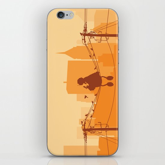 Too Big For The City iPhone & iPod Skin