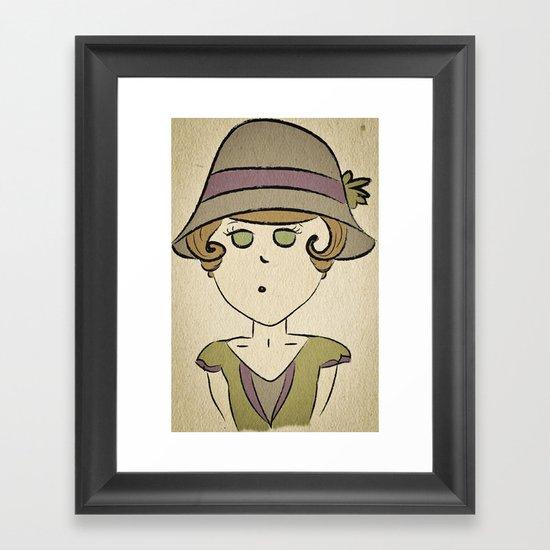 1920's Framed Art Print