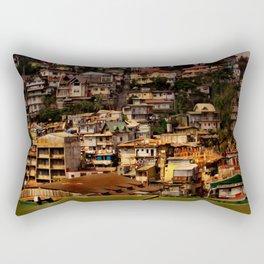 Philippinen - über den Dächern von Banaue Rectangular Pillow
