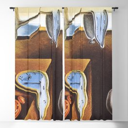 THE PERSISTENCE OF MEMORY - SALVADOR DALI Blackout Curtain