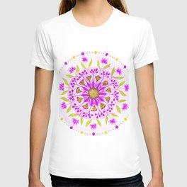 Floral Grove Mandala T-shirt