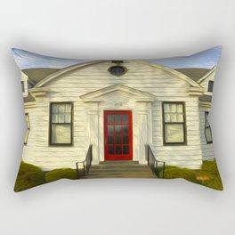 Red Door Rectangular Pillow