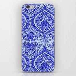Simple Ogee Blue iPhone Skin
