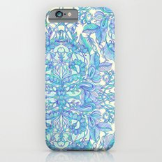 Lilac, Mint & Aqua Art Nouveau Pattern iPhone 6 Slim Case