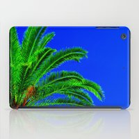 palm tree iPad Cases featuring Palm Tree by Phil Smyth