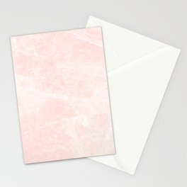Bright Pink Marble Stationery Cards
